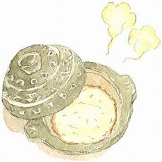 土鍋で作るお粥