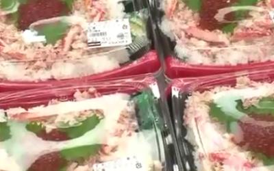 ずわいがに寿司